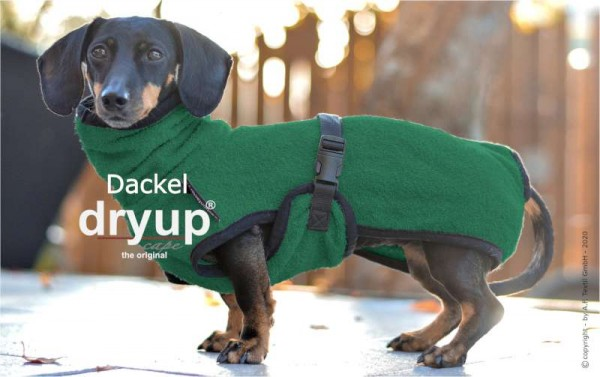 """DRYUP cape """"Dackel & Co."""""""